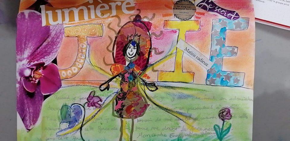 jour 14 maud art-therapeute maincy défi des 100 jour journal créatif