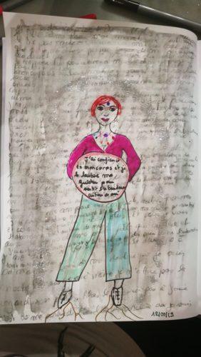 jour 10 défi des 100 jour trouver sa mission de vie journal créatif seine et Marne Maud art thérapeute